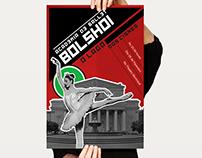 Poster Ballet Bolshoi