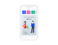 Mobile - Shopping App UI