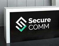 Logo design for secured mobile communication brand