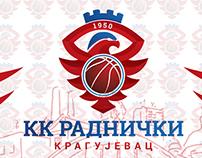 "Basketball team ""RADNICKI KRAGUJEVAC 1950""  BRANDING"