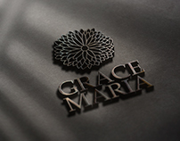 GRACE MARIA / CONSTRUCTION BUILDING LOGO AND FOLDER