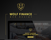 Wolf Finance Website