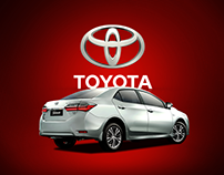 Toyota Social Media Posts and Animations