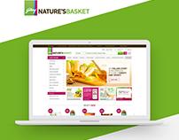 Ecommerce Website Design - Godrej Nature's Basket