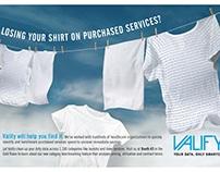Valify Tradeshow Ad