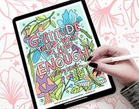 Adobe Coloring Book