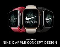 Nike X Apple Concept Design ( Logo / Watch )