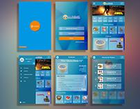 Interfaz de usuario de App