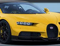 Bugatti Chiron Qatar