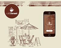 Cafe Sweet Mobile App - UX/UI design