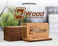 Now offering WOOD business cards