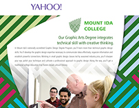 Design Solutions II - Yahoo Sign In Ad
