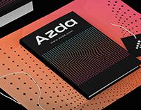 Azda Platform Branding Design.