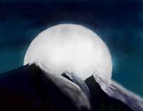 Mountain at Midnight