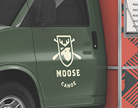 Moose Canoe Food Truck Branding