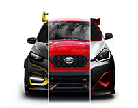 Datsun Go Xplore Your Style - Digital Modification