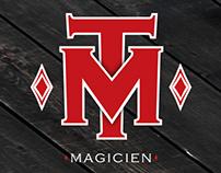 MT Magicien - Logo et carte d'affaire