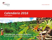 Calendario 2016 - Holcim Argentina