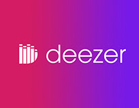 LOGO + APPLICATION DEEZER