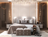 Master bedroom design in Kuwait City