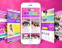 UX/UI Design Nosotras Online mobile version / 2014