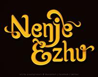 "A.R.Rahman's ""Nenje Ezhu"" | Title Design"
