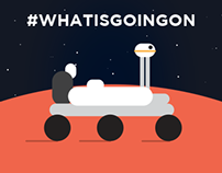 #whatisgoingon - The search of water on Mars