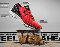 """Under Armour """"VS."""" shoe campaign"""