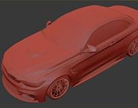 BMW M4 - 3ds Max