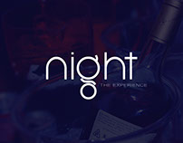 Night. The experience. Branding