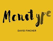Monotype'15 / David Fincher