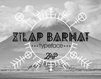 Zilap Barnat Typeface