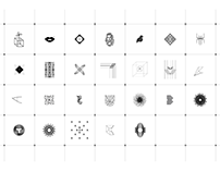 SET 02 B UNPUBLISHED / LOGO SYMBOLS