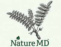 Nature MD Packaging Label Illustrations by Steven Noble