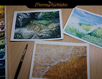 LANDSCAPES WATERCOLOR (sketches 2)