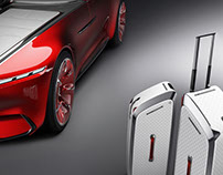 Mercedes-Benz Maybach 6 concept accessory design