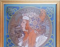 Tete Byzantine blonde - variation