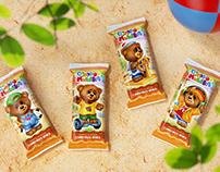 """""""Озорной мишка""""   branding, packaging design"""