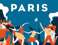 Airbnb - Paris poster