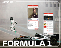 Formula 1 — New Website 2020