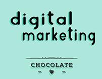 Marketing Digital - Estação Cacau - Páscoa - Easter