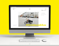 Christiania Bikes - Website