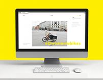 Christiania Bikes - Website