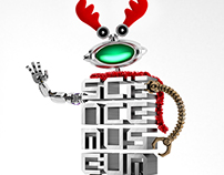 London Science Museum Christmas Robot