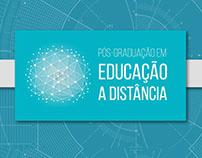 Logotipo - Pós -graduação em Educação a Distância