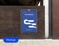Lightbox 01 | Signage Mockup Template