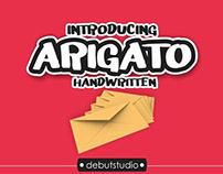 FREE FONT Arigato
