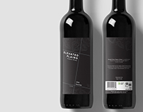 Elevated Plains Wine Label Project