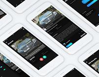 iOS App Slide Car