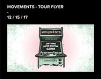 MOVEMENTS - TOUR FLYER 12 / 15 / 17